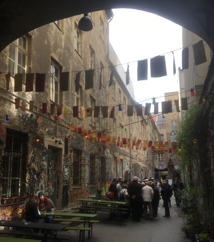Things Helen Loves, Courtyard in the Hackesche Hof