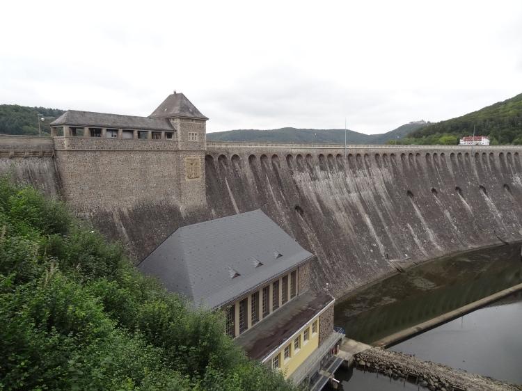 The Eder Dam in Germany