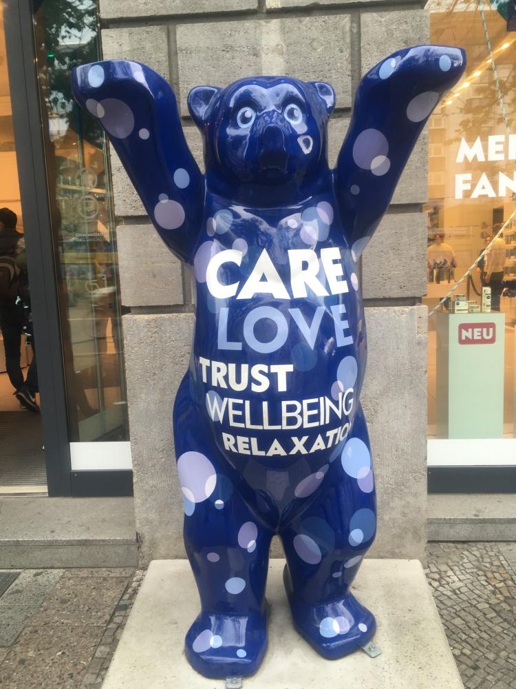 Berlin Bear @ Nivea Haus