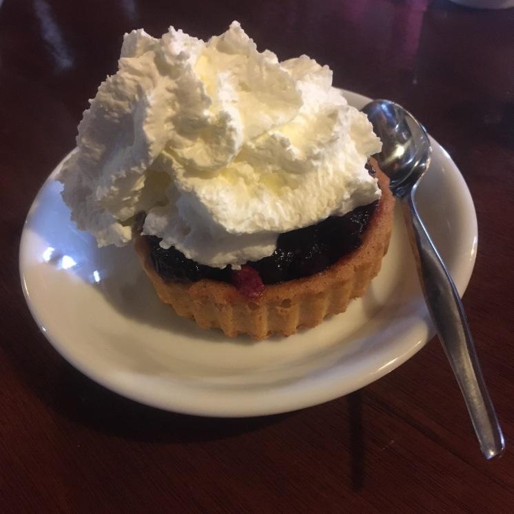 Cranberry tart from the Dutch Island Terschelling
