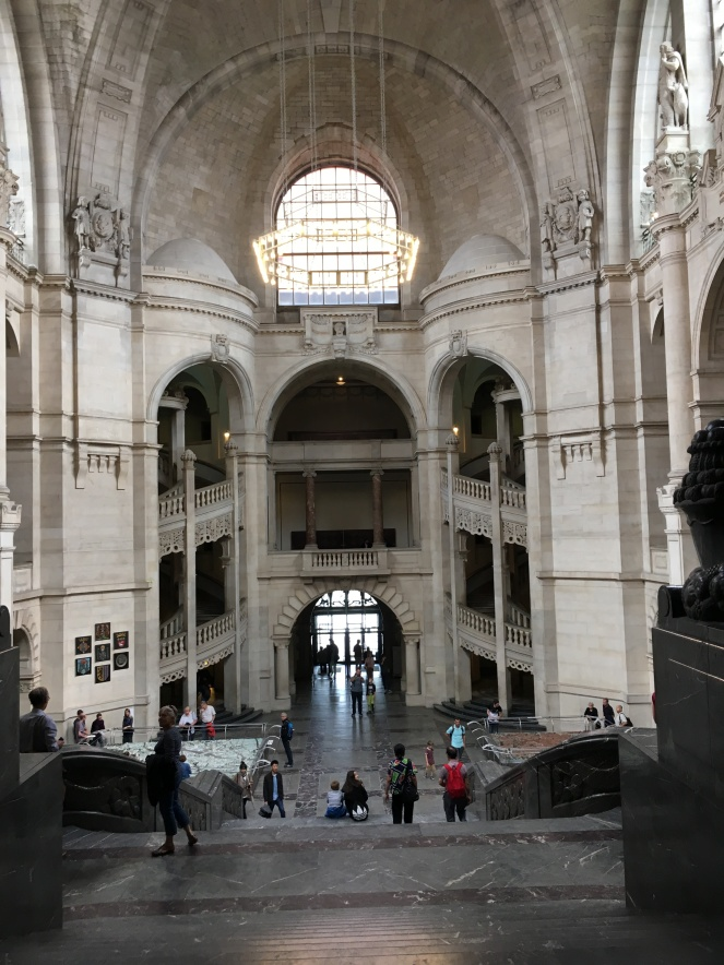 Interior of New Town Hall, Hannover