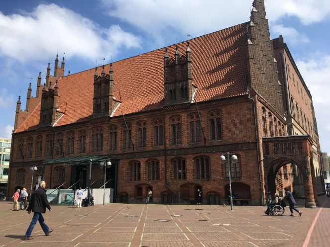 Red brick old town hall, Hannover