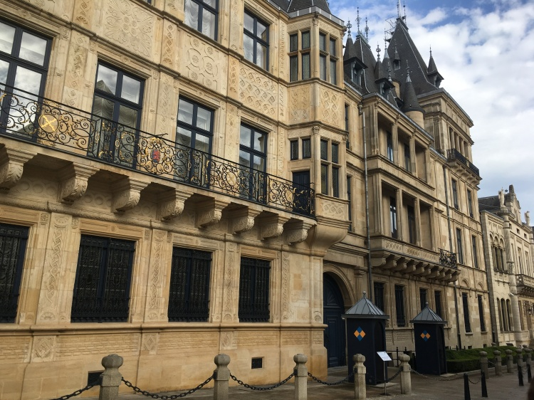 Things Helen Loves, Facade of Grand Ducal Palace, Luxembourg City