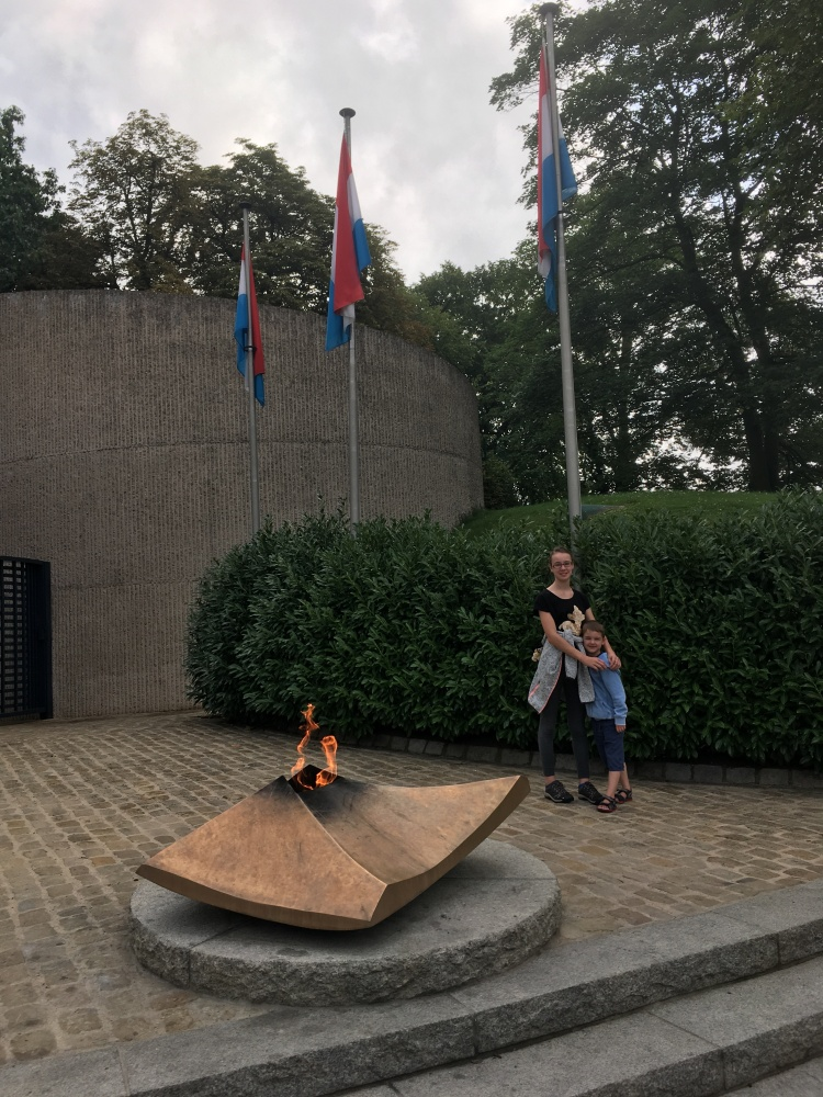 Things Helen Loves, Eternal flame in front of National Solidarity Monument in Luxembourg city