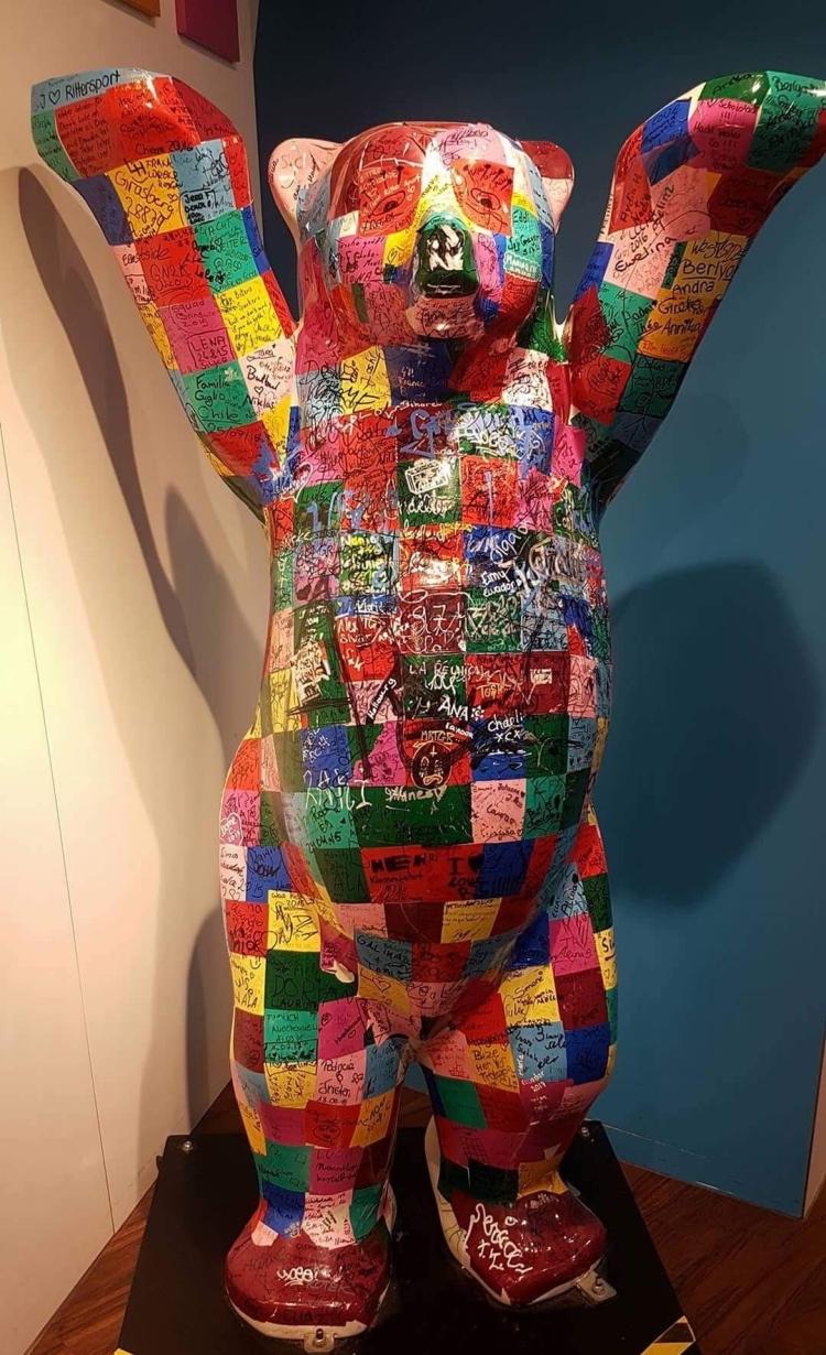 Things Helen Loves, Berlin bear in multi colours