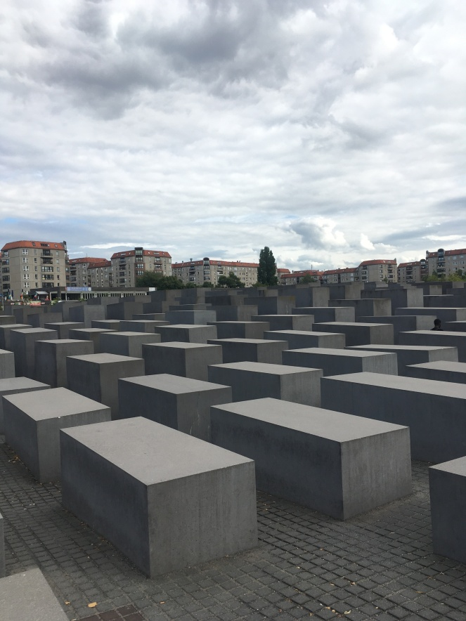 Things Helen Loves, picture of large Berlin Memorial to the Jews of Europe.