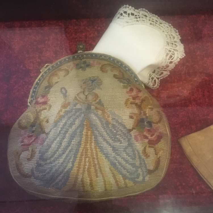 Things Helen Loves, Antique tapestry purse
