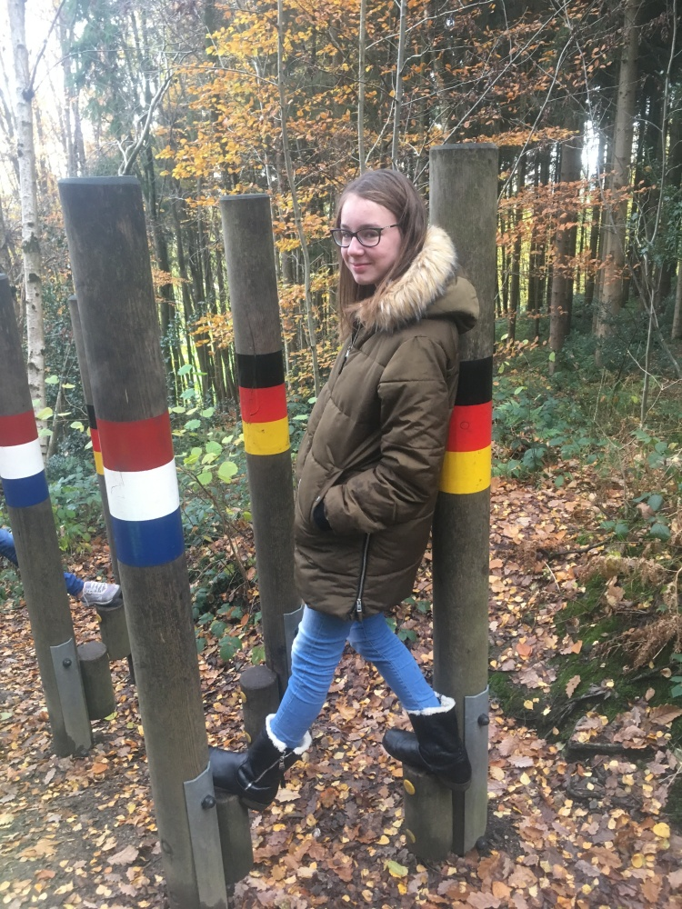 Things Helen Loves, Young girl exploring a walk on the Dutch German border