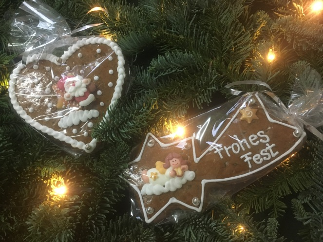 Things Helen Loves, Decorated gingerbread