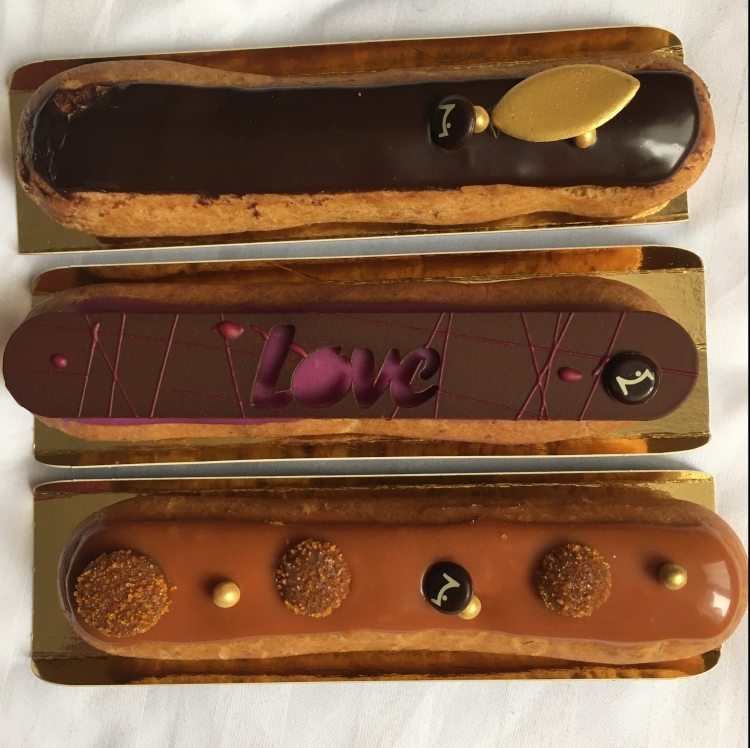 Things Helen Loves, image of decorated Eclairs