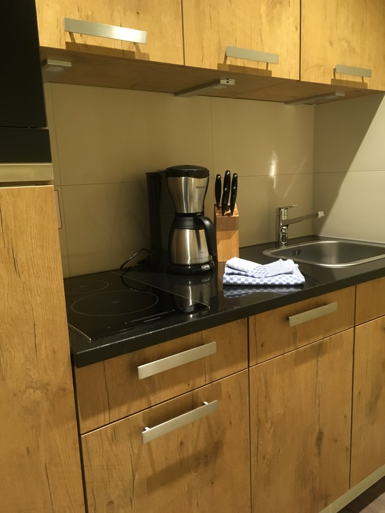 Things Helen Loves. Kitchen area of apartment