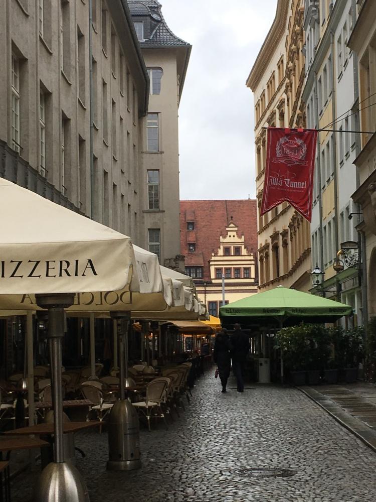 Things Helen Loves, image of old streets in Leipzig