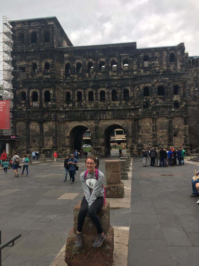 Things Helen Loves, image of Porta Nigra in Trier