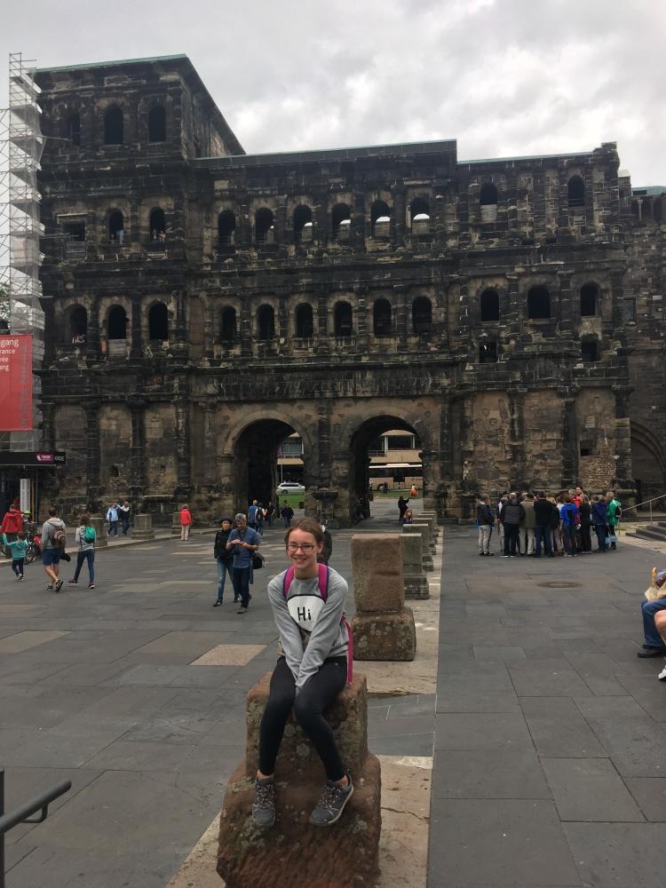 Things Helen Loves, image of Porta Nigra in Trier