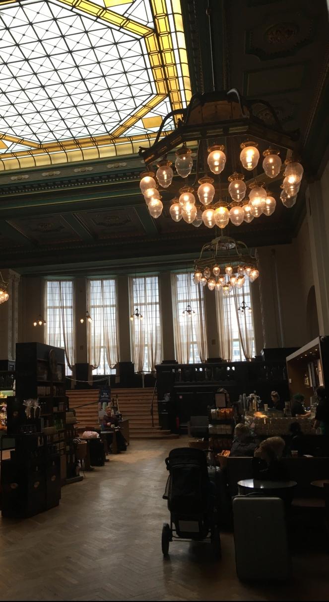 Things Helen Loves, ornate branch of Starbucks in Leipzig Germany