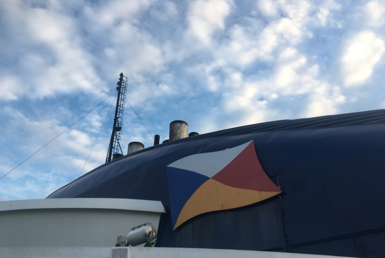 Things Helen Loves , image of ship with P&O logo