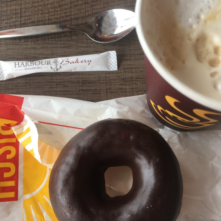Things Helen Loves, image of donut and coffee