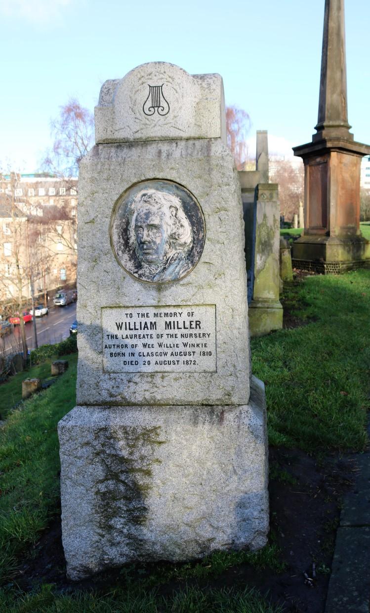 Things Helen Loves, image of gravestone of William Miller