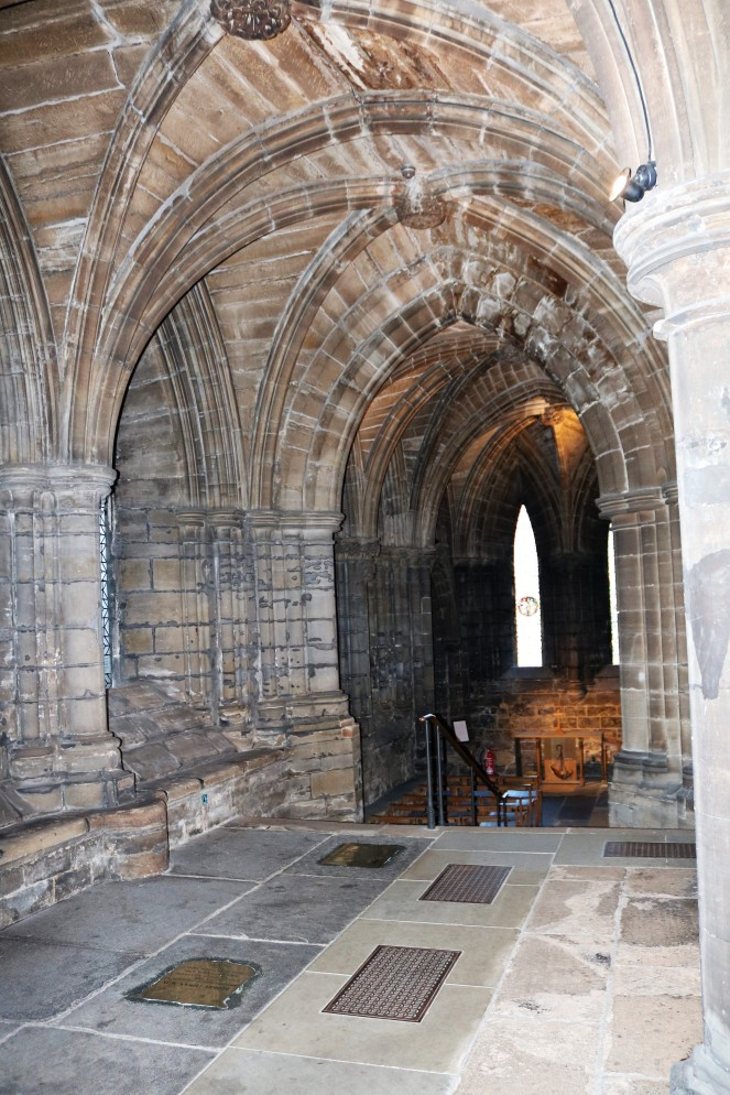 Things Helen Loves, image of Cathedral crypt