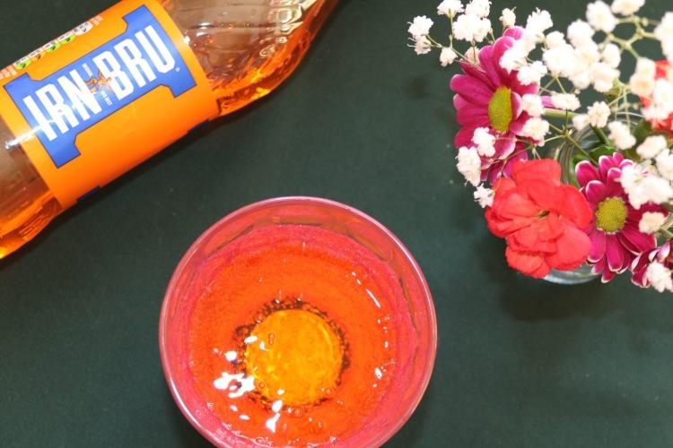 Things Helen Loves image of soft drink Irn bru