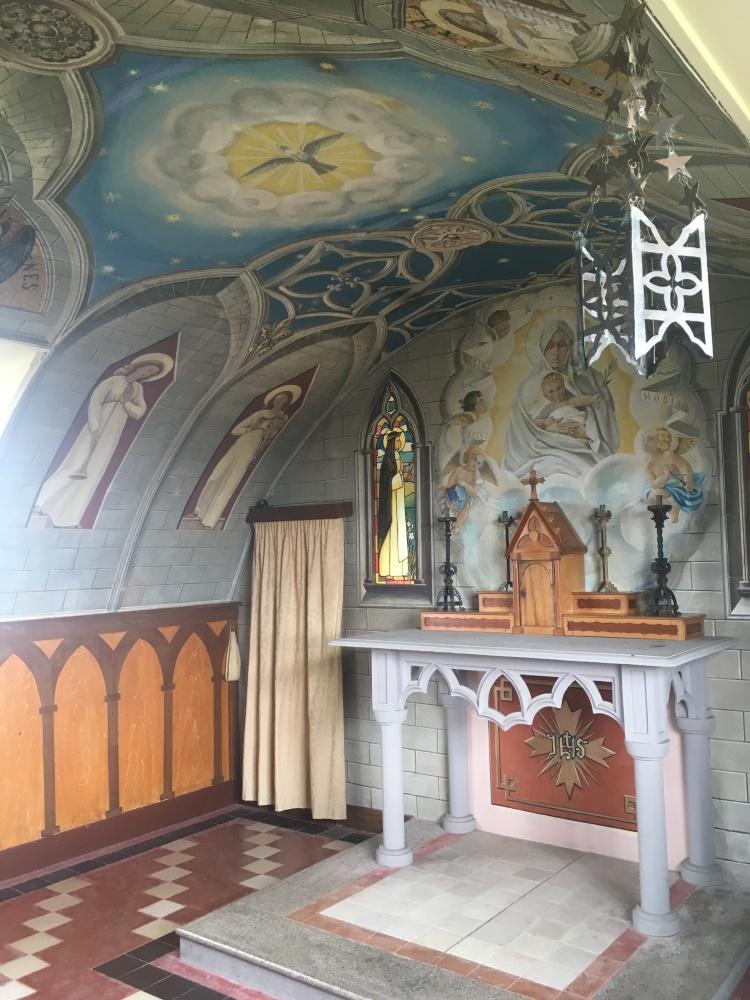 Things Helen Loves, Interior of Italian Chapel, Orkney