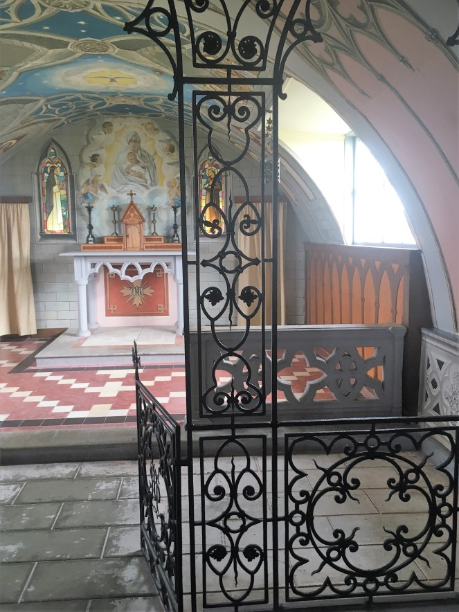 Things Helen Loves, image of interior of Italian Chapel, Orkney