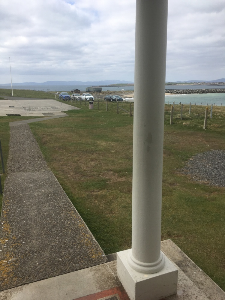 Things Helen Loves, view from Chapel entrance, Orkney