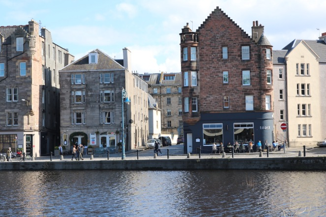 Things Helen Loves, old waterfront buldings in Leith