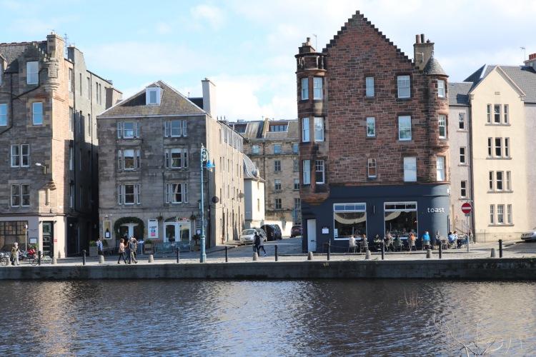 Things Helen Loves, old waterfront buldings in Leith