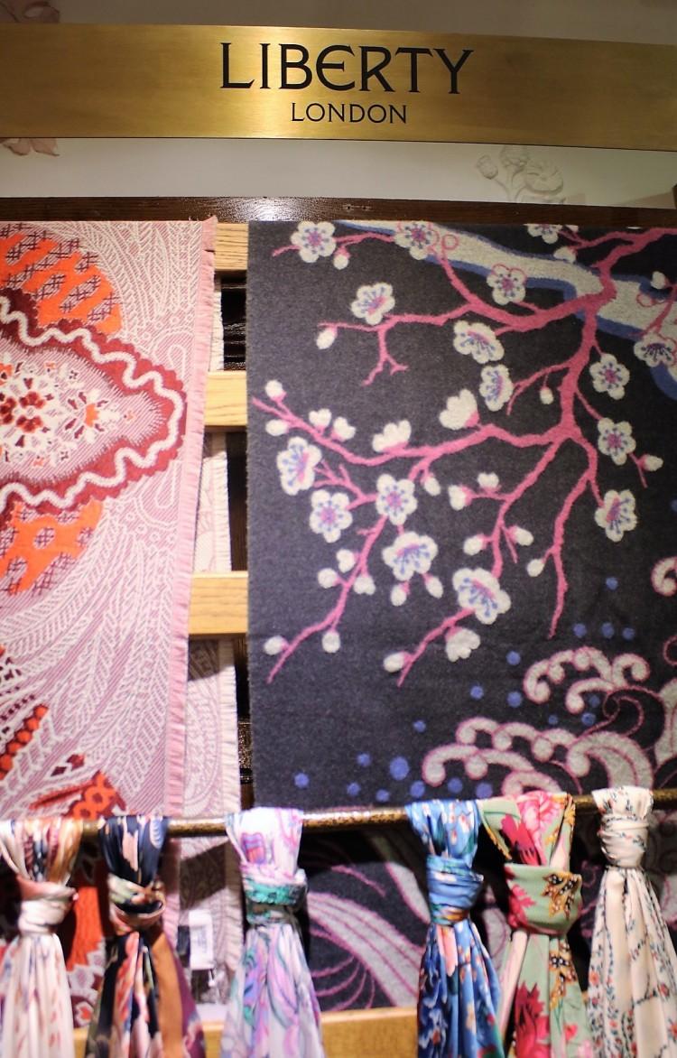 Things Helen Loves, silk scaves in Liberty prints