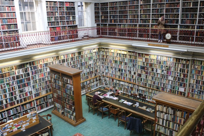 Things Helen Loves, image of library interior in Newcastle
