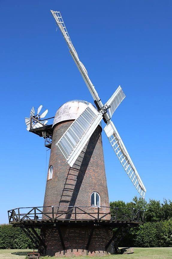 Things Helen Loves, image of windmill against blue skies