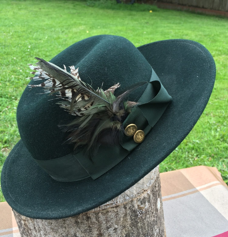 Things Helen Loves, Image of Green Alpine style hat