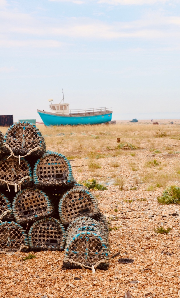 Things Helen Loves, image of boat and lobster pots