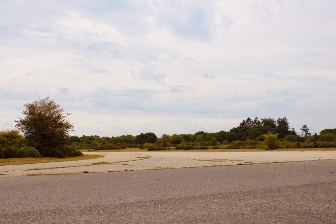 Things Helen Loves, remains of the military runway at Greenham Common
